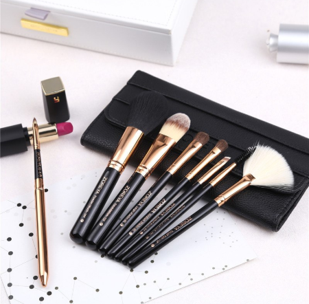 Gilmor Beauty - ZOREYA ZOREYA 8pcs Synthetic Hair Makeup Brushes Set