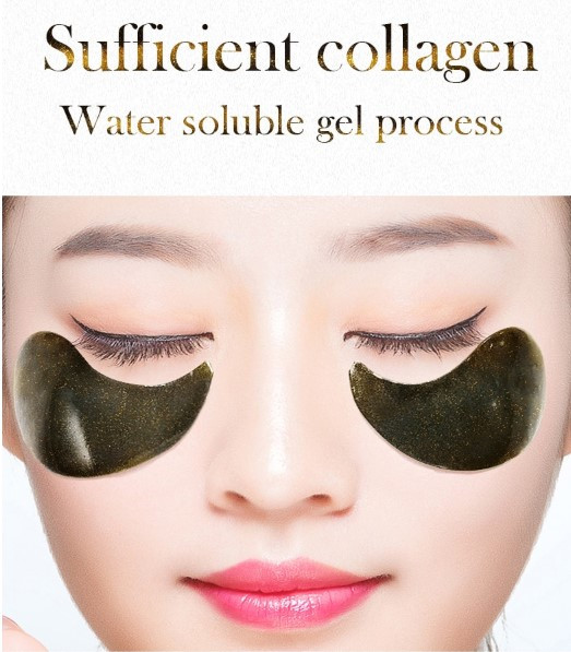 FONCE רטיות קולגן 60 יח' מתה שחור ואצות להאטת תהליך ההזדקנות, מיצוק וגמישות
