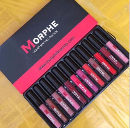 Gilmore Beauty - Morphe Set Matte Lip Gloss