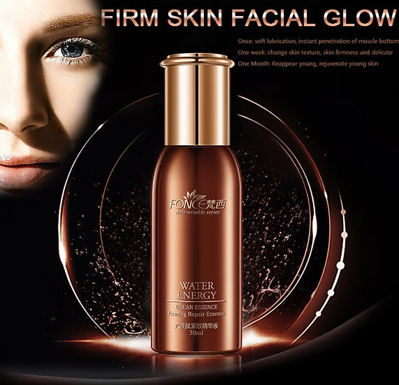Gilmore Beauty - FONCE Six Peptides Face Anti Wrinkle Essence Moisturizing Lifting Firming Facial Serum Anti Aging Ageless