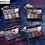 גילמור ביוטי - MEIS סט 4 צלליות גליטר מנצנצות של
