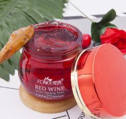 Gilmore Beauty - Fonce Red Wine Sleeping Mask Cream No Wash Moisturizing Gel Night Cream Anti Wrinkle Aging Nutrition Brighte
