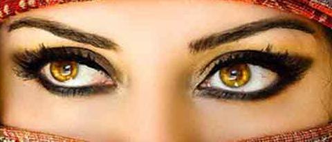 איך נדע שהעיניים שלנו קרובות?  כאשר העפעפיים שלנו גדולים מהאישון שלנו.