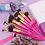 גילמור ביוטי - סט 14 מברשות מקצועי משיער סינטטי איכותי –Docolor