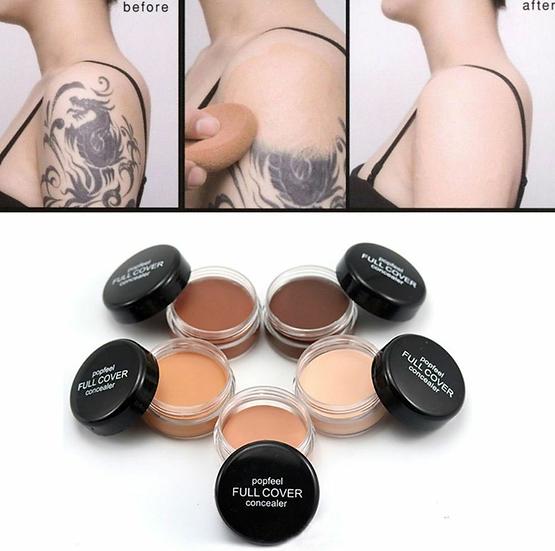 Gilmore Beauty - popfeel Hide Blemish Full Cover Concealer Creamy Primer Foundation Cream Face Makeup