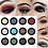 Gilmore Beauty - PHOERA Matte Eye Shadow Glitter Eyeshadow Powder 12 Colors