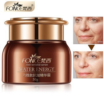 Gilmore Beauty - FONCE Anti Wrinkle Facial Cream Day night Moisturizer Six Peptide Serum Hydrating anti Aging Face Lifting