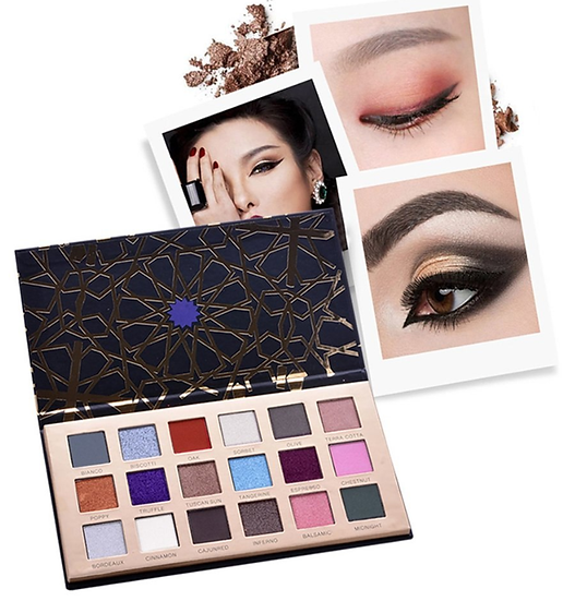 Gilmore Beauty - Miss Doozy  Eyeshadow Palette 18 Colors Highly Pigmented Eye Shadow Palette Long Lasting Waterproof