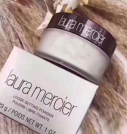 פודרה אבקתית שקופה של לאורה מרסייר - Laura Mercier - גילמור ביוטי