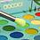 גילמור ביוטי - סט 15 מברשות משיער סינטטי איכותי לאיפור העיניים והגבות –Docolor