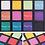 גילמור ביוטי - פלטה 12 צלליות בצבעים נועזים וחמים פיגמנט עשיר - מורפי