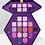 גילמור ביוטי - Purple Blood פלטה 18 צלליות מקצועית של ג'פרי סטאר