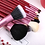 Gilmor Beauty - ZOREYA 12pcs Natural Goat hair makeup brushes