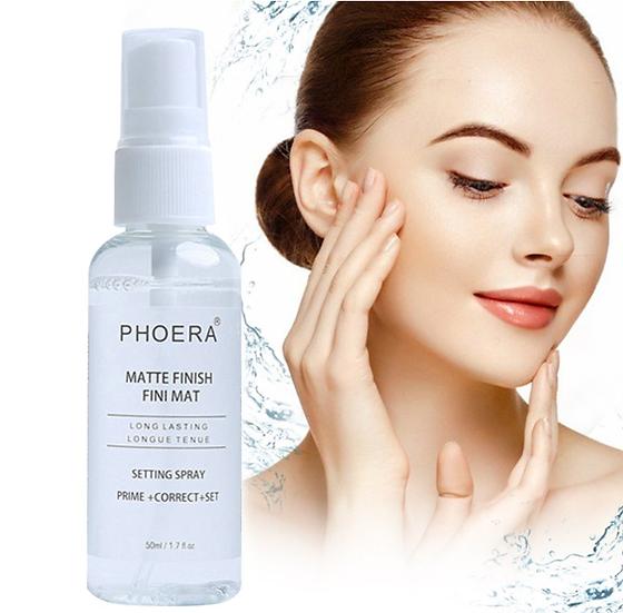 Gilmore Beauty - PHOERA Makeup Setting Spray Moisturizing Long Lasting Foundation Fixer Matte