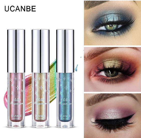 Gilmore Beauty - UCANBE Eye Chrome Shadow Metallic Glow Glitter