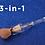 Gilmore Beauty - ZOREYA  - 3 in 1 Multi-function Makeup Brush Super Soft Synthetic hair !! שלוש באחת