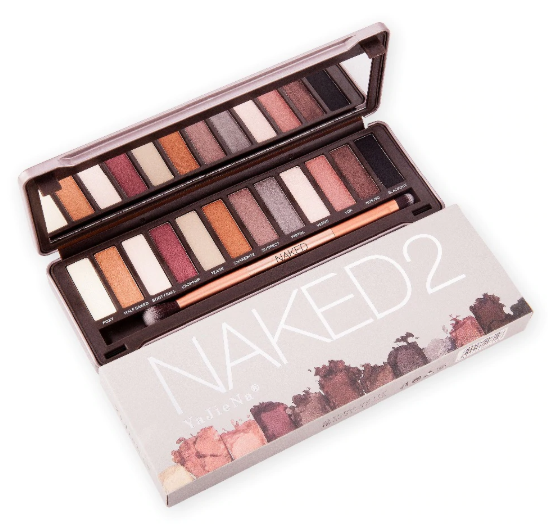 Gilmore Beauty - Miss Doozy Naked2 Pro Nude 12 Color Matte Shimmer Waterproof Brand Eyeshadow