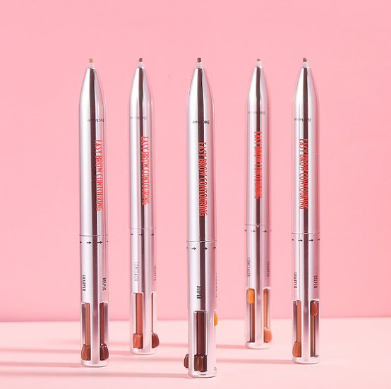 עט גבות מהפכני בעל 4 צבעים לעיצוב מושלם - גילמור ביוטי