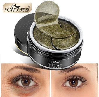 Gilmore Beauty - Fonce Skin Care Black Tea Collagen Gel Eye patches Mask Plant for eyes Remover dark circles Anti Age Bag Eye