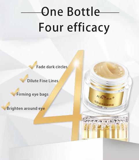Gilmore Beauty - FONCE Skin Care Remove Dark Circles Eye Cream Treatment Eye Bag Moisturizing Firming Serum Day Night Cream