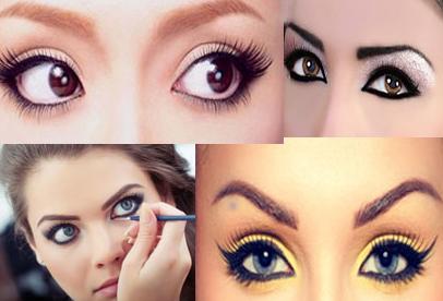 איך נדע שהעיניים שלנו קרובות?  כאשר אנחנו רואים את העפעף העליון כשהעין שלנו פתוחה או כאשר העין בולטת יותר מעצם הגבה