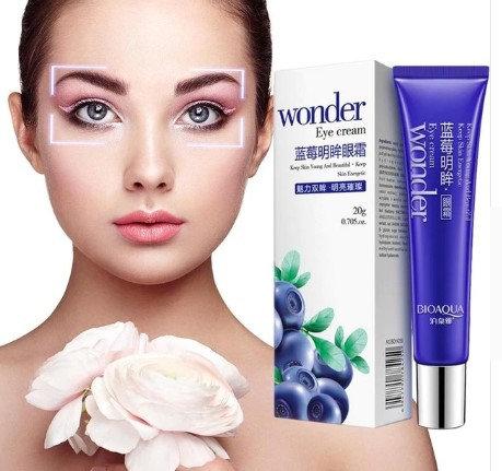 Gilmore Beauty - BIOAQUA Blueberry Lighting Eyes Gel Anti Wrinkle Eye Cream Anti-Puffiness Dark Circle Anti-Aging Moisturizin