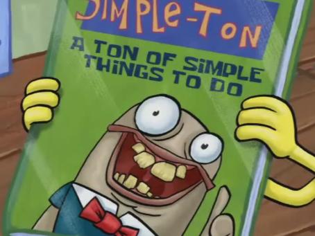 Wednesday Word: Simpleton