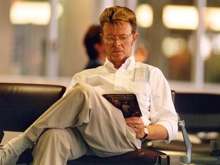 David Bowie was an avid reader!
