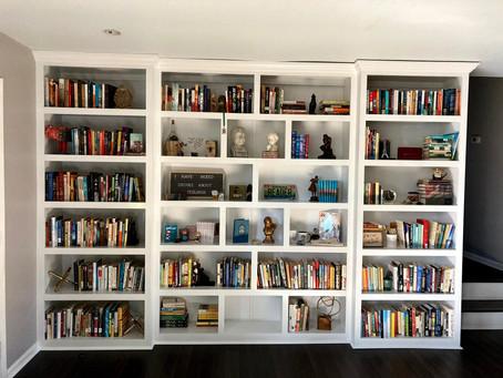 Carmen's Bookshelves!!