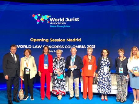 BROSETA participa en la Opening Session del Congreso Mundial de Derecho.