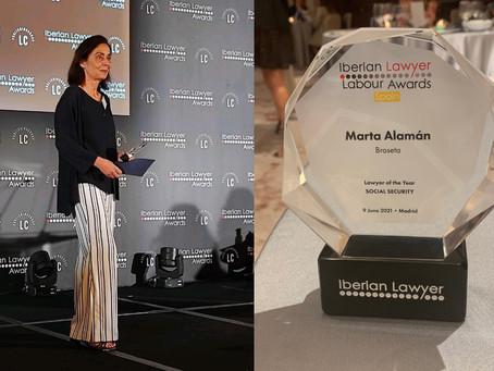 Marta Alamán, socia de Broseta ha sido reconocida por Iberian Lawyer