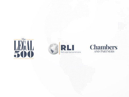 RLI en The Legal 500 y Chambers and Partners.