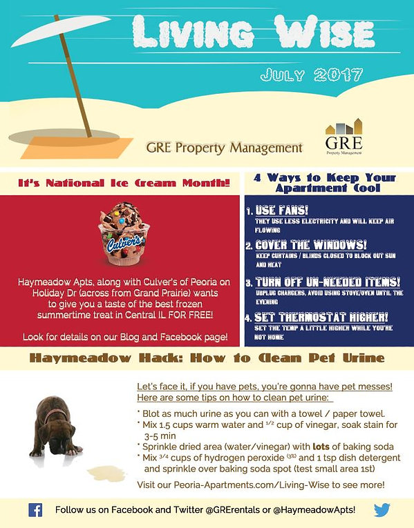 Living Wise July 2017 How To Clean Pet Urine | GRE Property