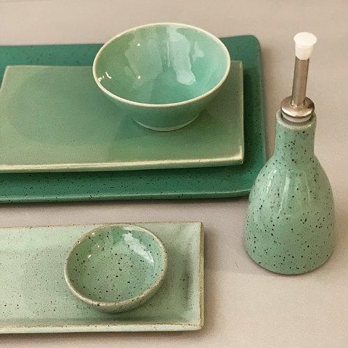 Conjunto para sushi em cerâmica