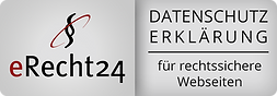 Zertifikat Datenschutz eRecht24