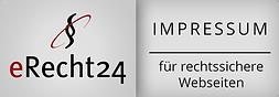 Zertifikat Impressum eRecht24