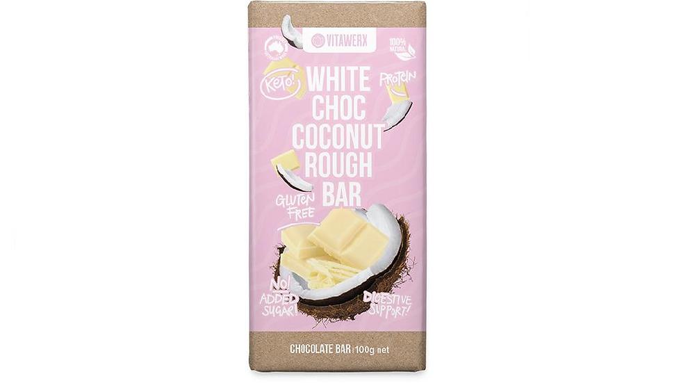 Vitawerx White Chocolate Coconut Rough 100g