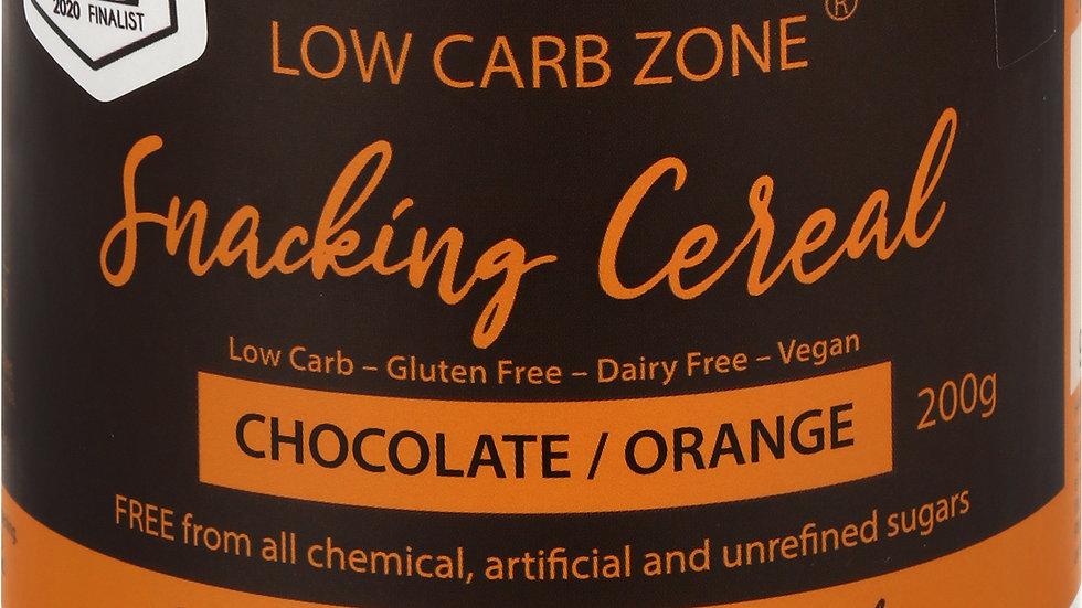 Low Carb Zone Snacking Cereal - Chocolate Orange
