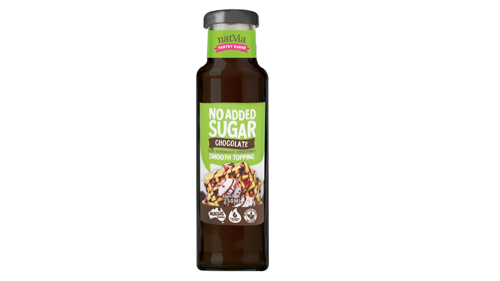No Added Sugar Smooth Chocolate Topping Natvia