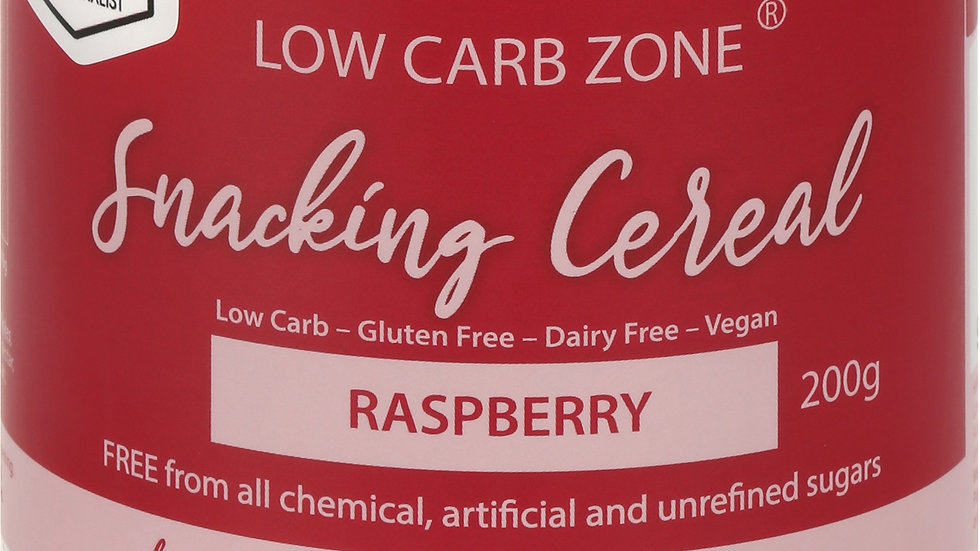 Low Carb Zone Snacking Cereal - Raspberry
