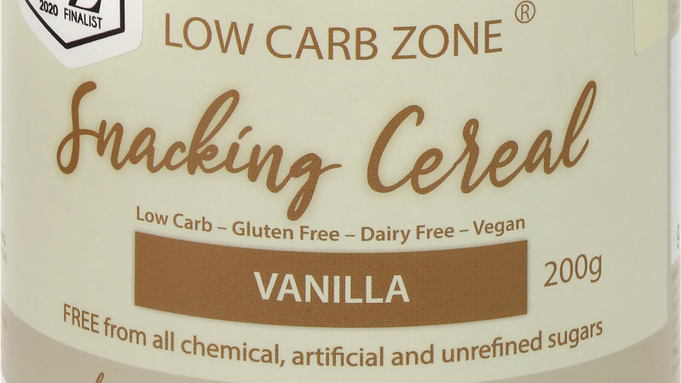 Low Carb Zone Snacking Cereal - Vanilla