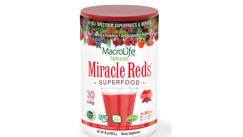 Miracle Reds - 30 Serves