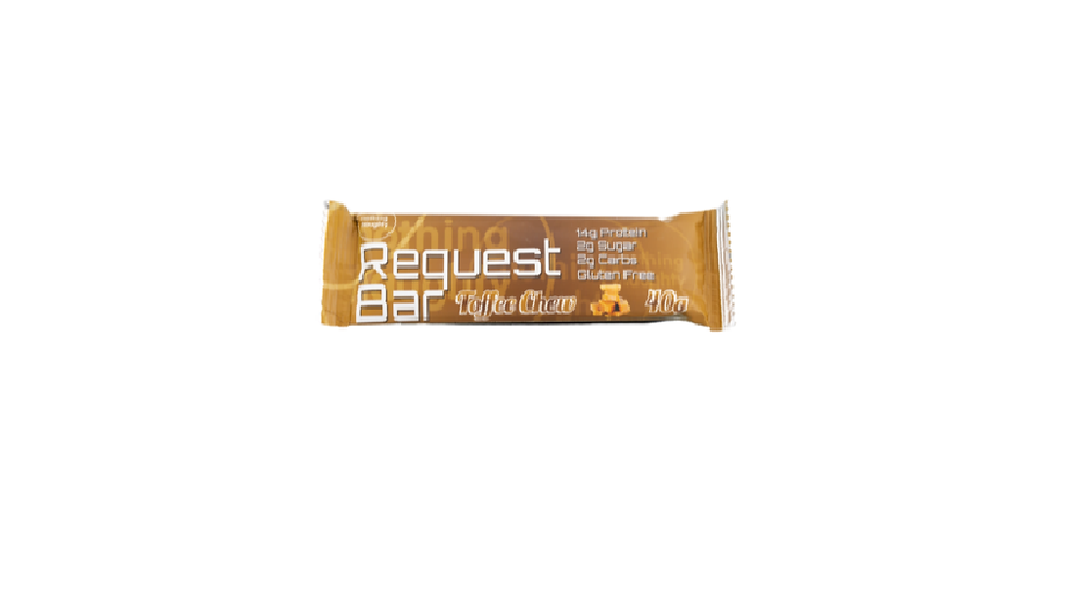 Request Protein Bar- Toffee Chew