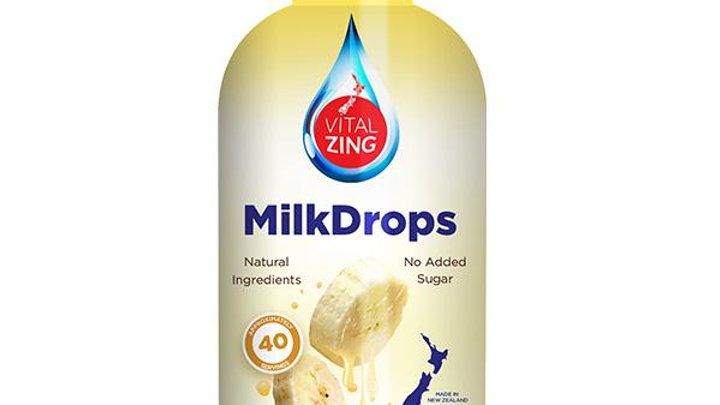 Milk Drops Banana - VitalZing