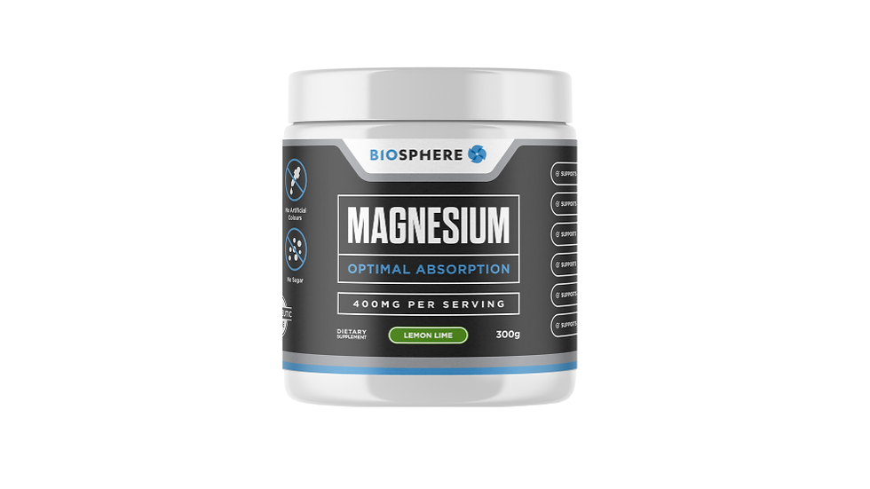 Magnesium Powder 400mg - Lemon Lime