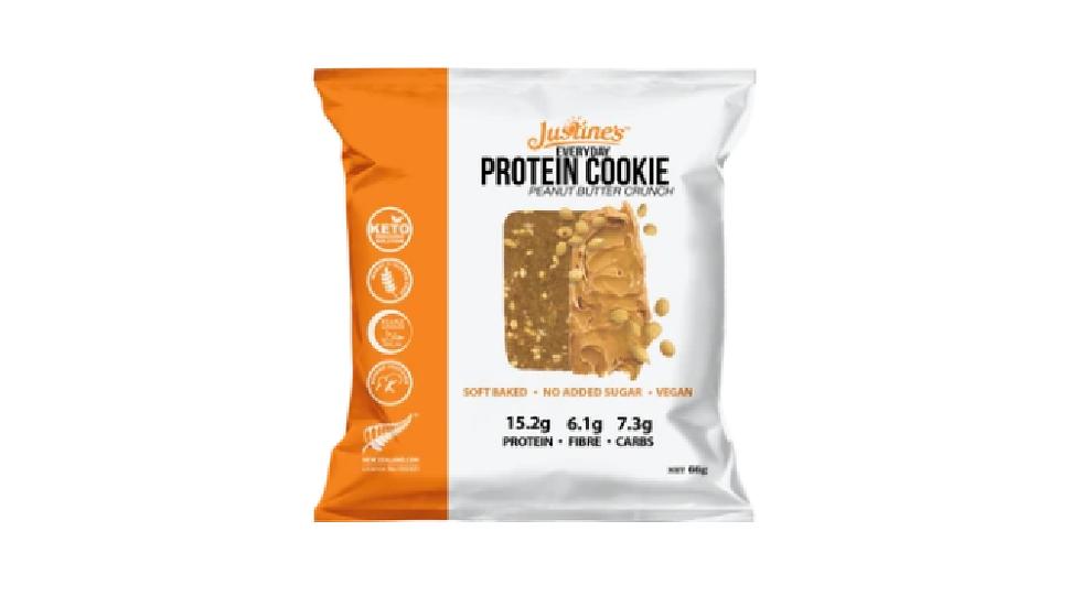 Justines Vegan Peanut Butter Protein Cookie