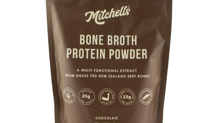 Mitchell's Chocolate Bone Broth Protein Powder