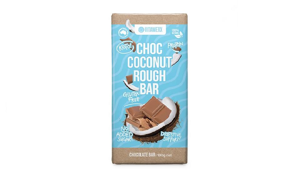 Vitawerx Milk Chocolate Coconut Rough 100g