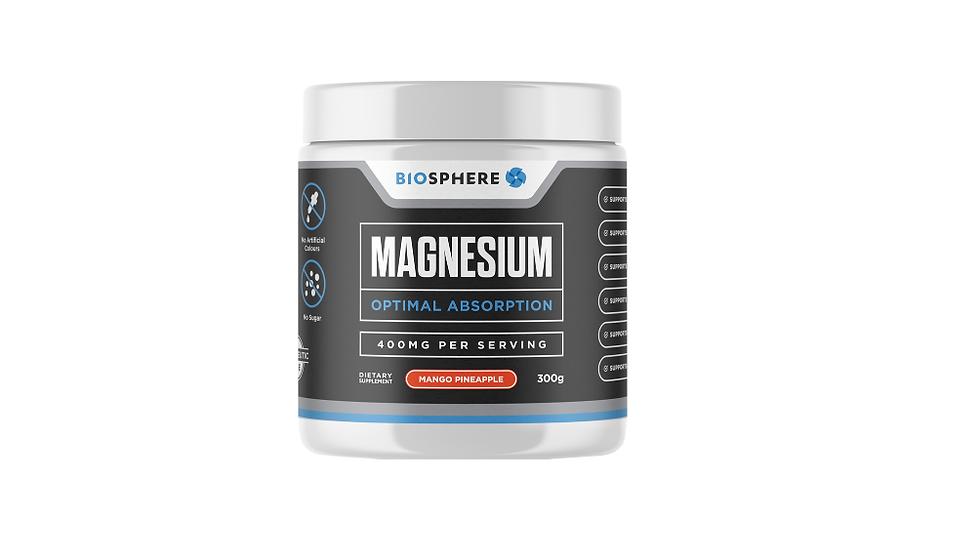 Magnesium Powder 400mg - Mango Pineapple