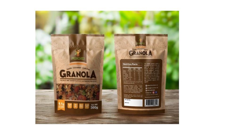 Keto Cinnamon, Vanilla, Grain free Granola - Frenchies